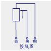KPM微型铰接位移传感器(电子尺)接线图
