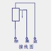 KTR自恢复式直线位移传感器(电子尺)接线图